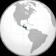 Location Federal Republic of Central America