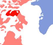 Canada Nuclear Test Range location