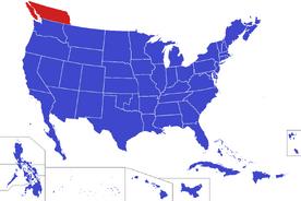 United States map - Columbia (Alternity)