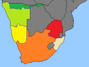 South-Africa Provinces (GNW)