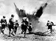 Japanese troops in Malibu