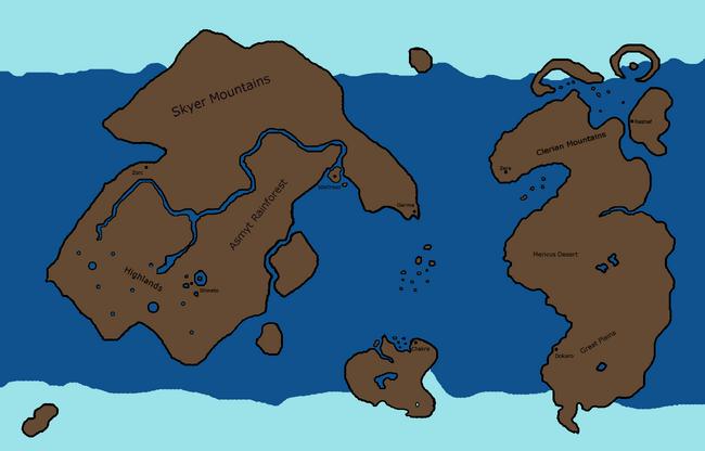 Krystalis Map