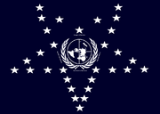 Flag New League of Nations(1983 Doomsday)
