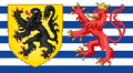 Flag of Lux Flanders (The Kalmar Union)