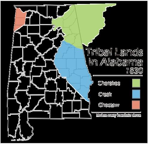 File:Alabama tribal land map 1830.png