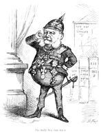 Caricature of Wilhelm I by Thomas Nast