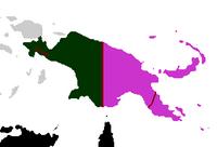 Division of Papua Island (PM II)