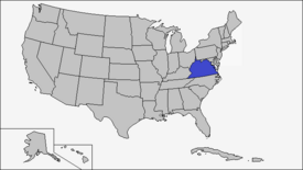 Location of Virginia (Coin Toss)
