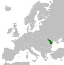 Location Moldavian Democratic Republic