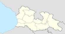 Map of Georgia (New Union)