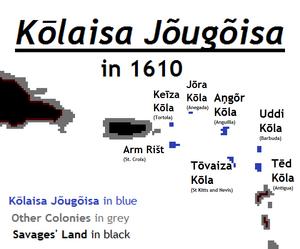 Kōlaisa Jõugõisa 1610