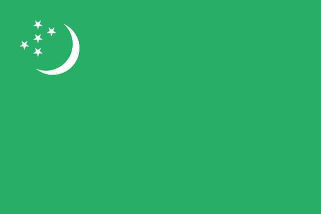 File:Simplified flag of Turkmenistan.png