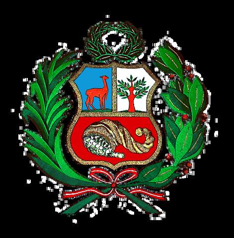 File:Coat of arms of Peru Escudo Peruano.png