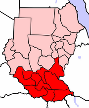 SouthernSudanMap