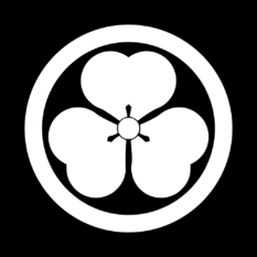 Japanese Crest Maru ni Katabami