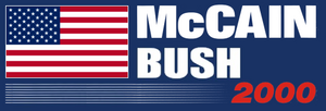 President McCain McCain-Bush Ticket