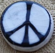 First peace badge