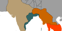 Second Great War of India (The Ashes of Rome Map Game)