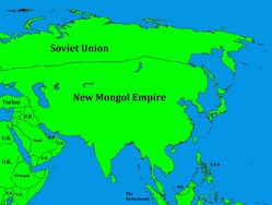 New Mongol Empire after WW1
