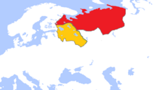 Russian League and Tatar Defense State in 1490