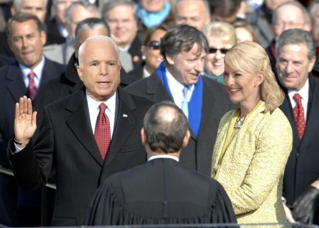 File:US President John McCain taking his Oath of Office January 20 2009.jpg