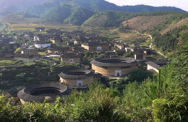 File:800px-Chuxi tulou cluster.jpg