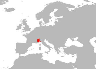 Map of Genoa (Principia Moderni)