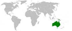 Axisworldmaphighlightaustralia