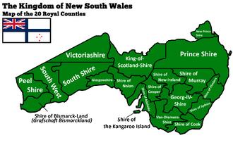 Grafschaften New South Wales