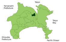 Zama in Kanagawa Prefecture