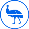 NUP emu blue