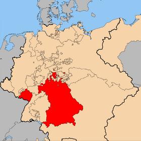 Bavaria 1818 CongressofVienna.png