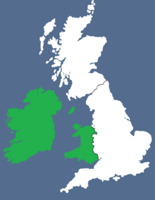 Celtic Union 2 (Greater Europe Map Game)