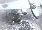 Japanese bomber over Chungking
