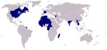 Map Kingdom French Republic