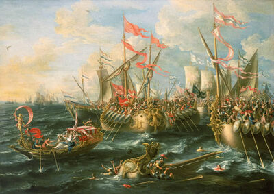 Roman naval Battle
