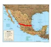 The partitioning of Mexico
