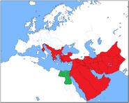 Alexander's Empire 311 BC Aegyptus