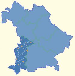 Schwaben in Bayern