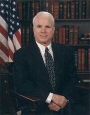 John McCain Official Portrait 1990s