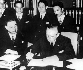 Signing of the Anti Comintern Pact