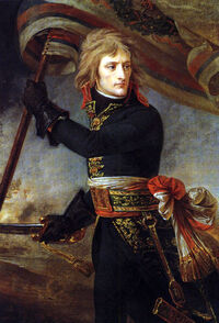 1801 Antoine-Jean Gros - Bonaparte on the Bridge at Arcole
