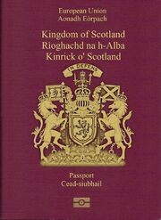 Scottish Passaport