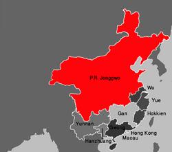 Map Jonggwo (VegWorld)