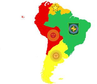 South America in 1870