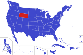 United States map - Cheyenne (Alternity)