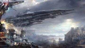Space-skyship