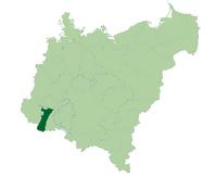 Map of DE AL