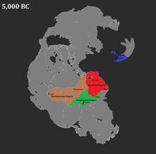 Cyrulean Empire Map