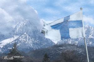 Finland borders Switzerland